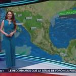 Foto: El clima con Mayte Carranco del 21 de febrero de 2019