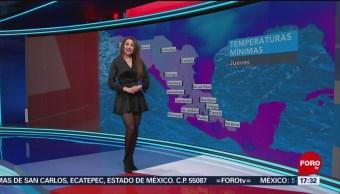 Foto: El clima con Mayte Carranco del 28 de febrero de 2019