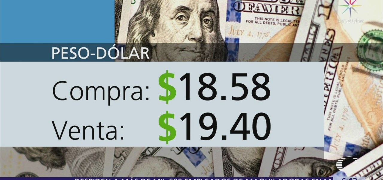 El dólar se vende en $19.40