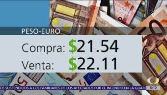 Foto: El dólar se vende en $19.43