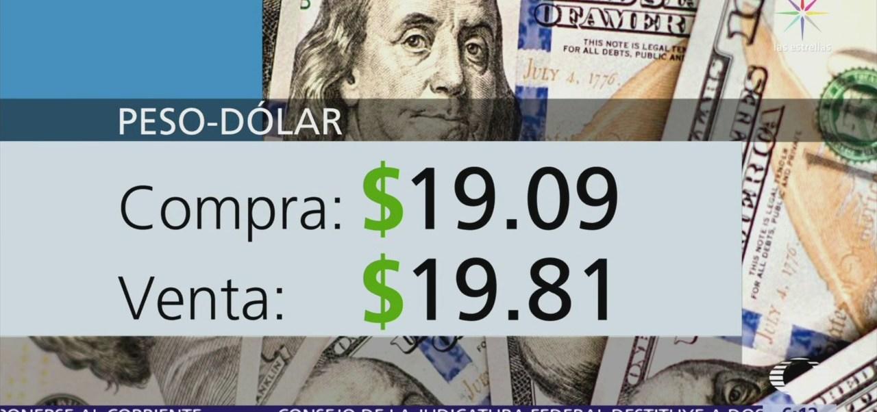 El dólar se vende en $19.81