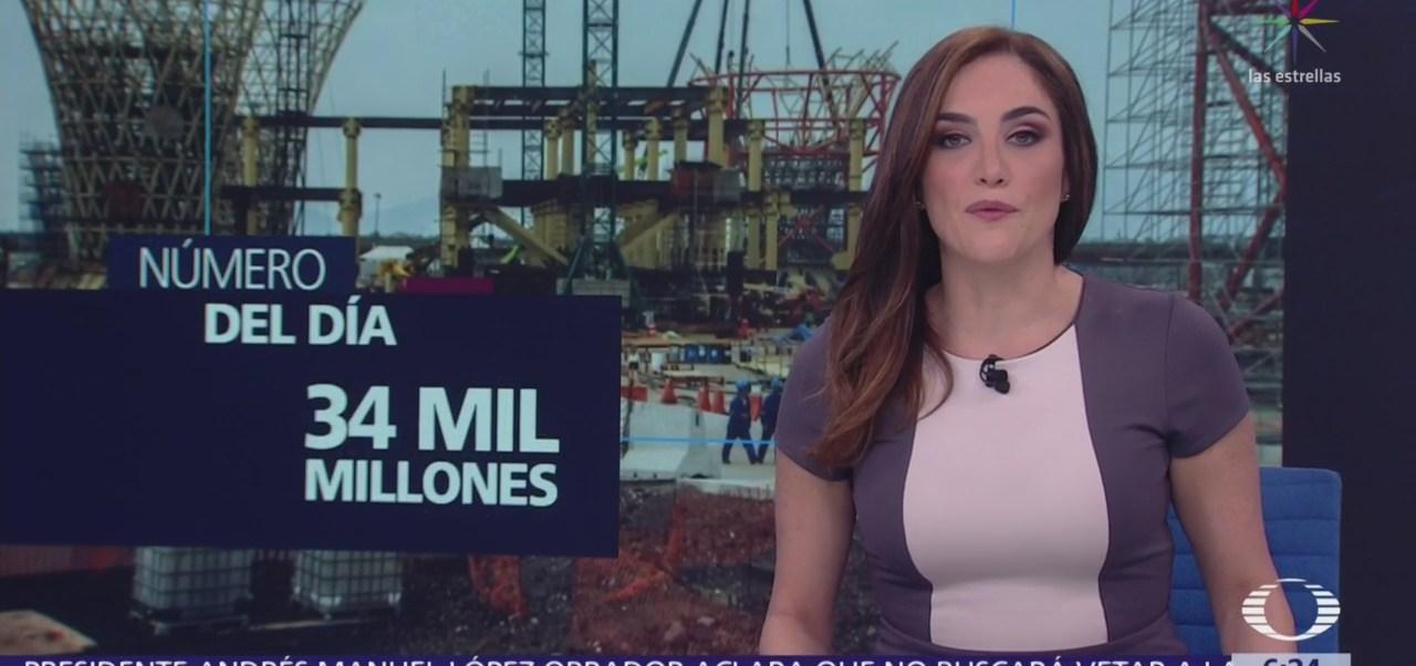 Foto: El número del día 34 mil millones