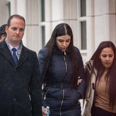 La devastadora reacción de Emma Coronel tras sentencia del Chapo