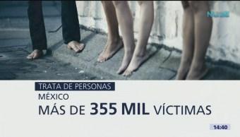 Foto: En México hay más de 360 mil víctimas de trata de personas