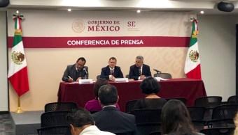 Ernesto Acevedo, crecimiento económico, Twitter, @SE_mx, 25 febrero 2019