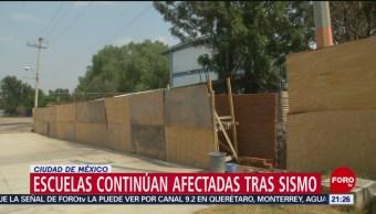 Foto: Escuelas Cerradas Daños Septiembre 2017 Sismo 14 Febrero 2019
