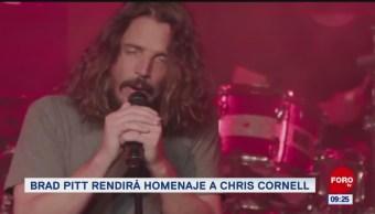 #EspectáculosenExpreso: Brad Pitt rendirá homenaje a Chris Cornell