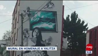 #EspectáculosenExpreso: Mural en homenaje a Yalitza