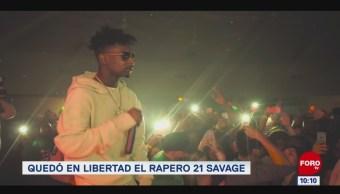 #EspectáculosenExpreso: Quedó en libertad el rapero 21 Savage
