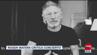 #EspectáculosenExpreso: Roger Waters critica concierto Venezuela Live Aid