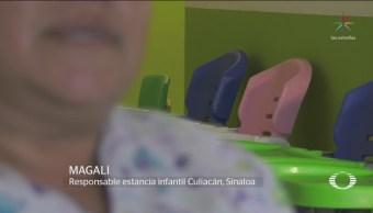 FOTO: Evidencian malos manejos de recursos en estancias infantiles en Sinaloa, 13 FEBRERO 2019