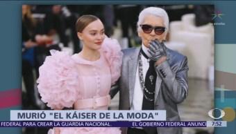 Fallece diseñador de Chanel, Karl Lagerfeld