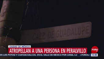 FOTO: Fallece un hombre atropellado en Peralvillo, CDMX, 16 febrero 2019