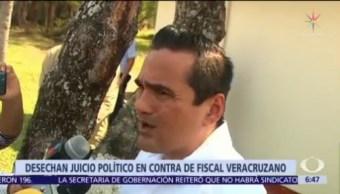 Fiscal de Veracruz, Jorge Winckler, seguirá en el cargo