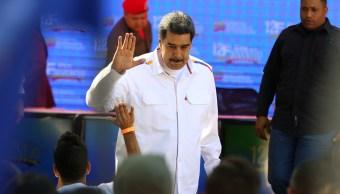 Foto: El presidente de Venezuela, Nicolás Maduro, asiste a un mitin para conmemorar el Día de la Juventud en Caracas el 12 de febrero del 2019