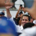 """Foto: Líder opositor venezolano Juan Guadió llega al concierto """"Venezuela Aid Live"""" en Cúcuta, Colombia, el 22 de febrero de 2019"""