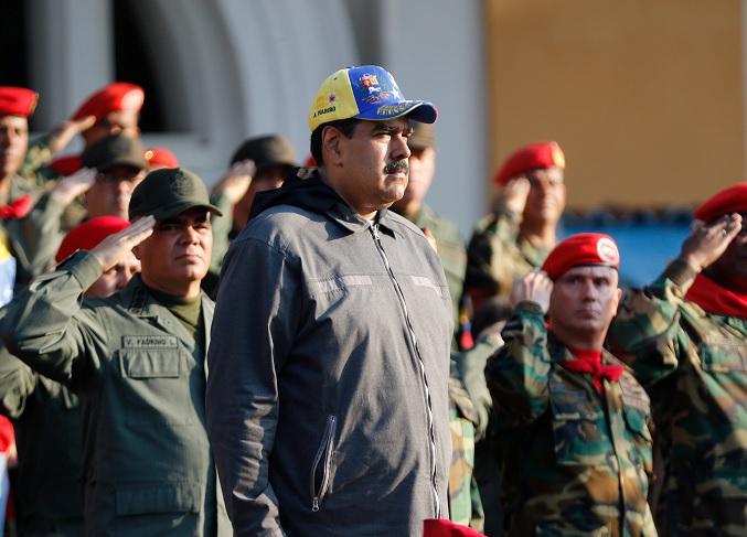 Foto: Nicolás Maduro asiste a ceremonia para conmemorar al expresidente venezolano, Hugo Chávez, el 4 de febrero de 2019