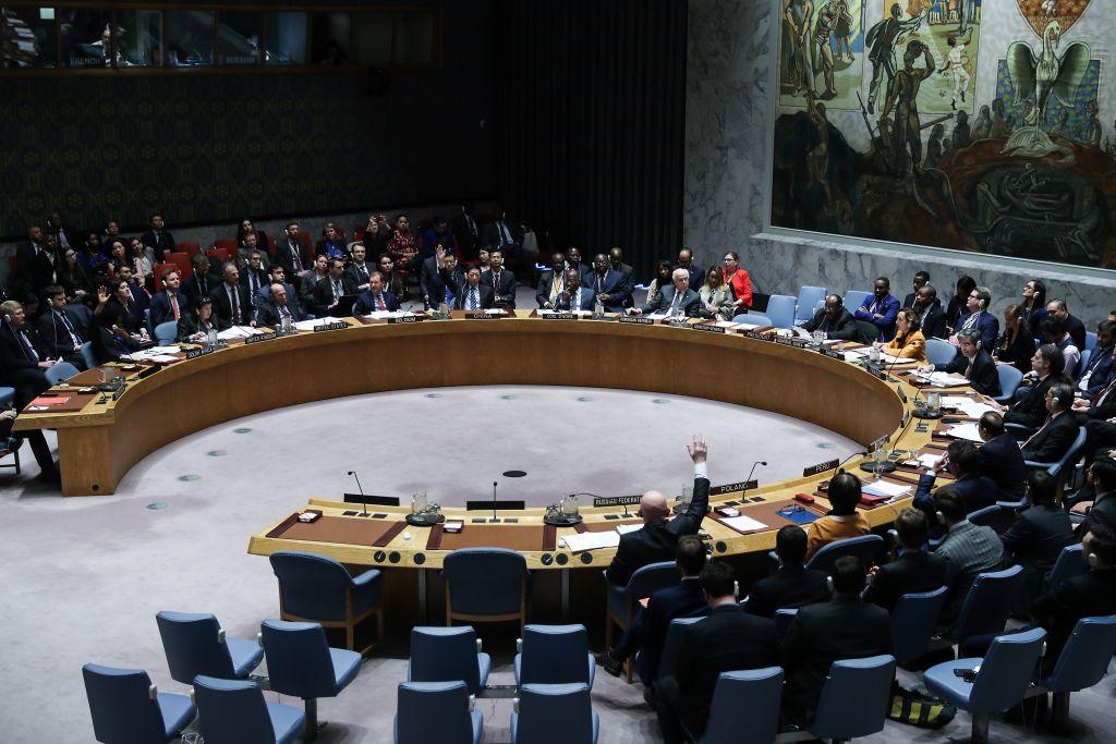 Foto: Reunión del Consejo de Seguridad de la ONU sobre crisis en Venezuela, del 28 de febrero de 2019