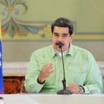 Foto: Nicolás Maduro, presidente de Venezuela, habla sobre la llegada de medicinas desde Rusia, el 21 de febrero de 2019