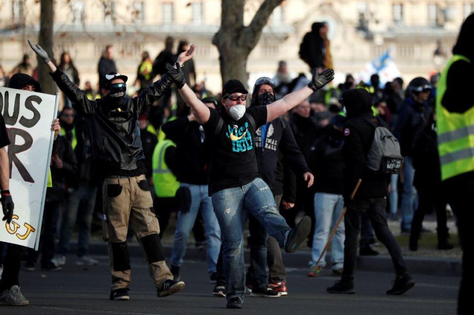 Foto: Como sucedió en las últimas semanas, la participación en las manifestaciones volvió a caer de forma significativa, el 16 de febrero de 2019