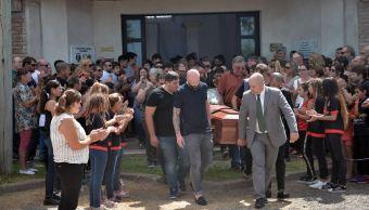 Foto: Realizan funerales al futbolista Emiliano Sala en Argentina, 16 febrero 2019
