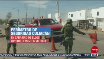FOTO: Gabinete de Seguridad blinda Culiacán, Sinaloa, 17 febrero 2019