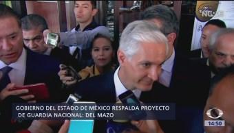 Foto: Gobierno del Edomex respalda proyecto de la Guarda Nacional