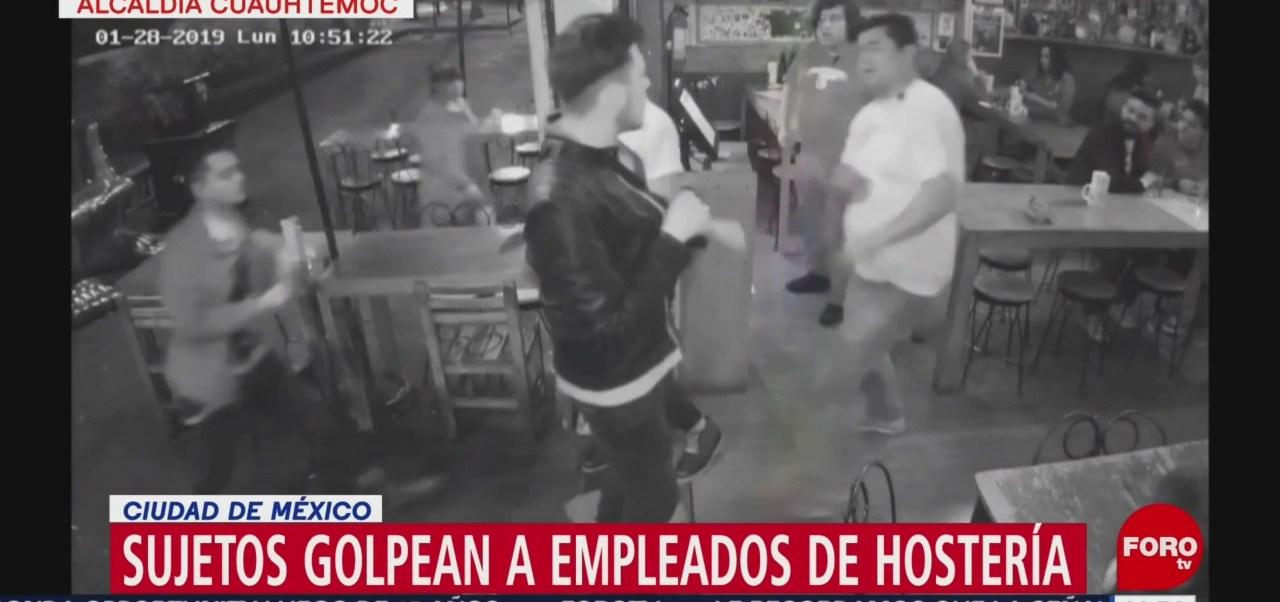 Foto: Golpean Empleados Hostería La Bota Cdmx 13 Febrero 2019