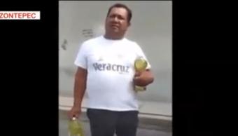 Graban robo de comida a tiendita en Hidalgo