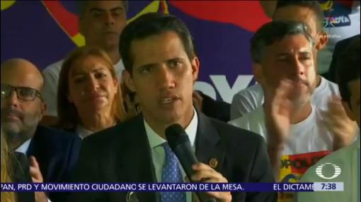 Guaidó espera que AMLO cambie postura sobre Venezuela