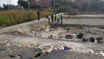 Foto: Hallan cuerpo de hombre carcomido por perros en Gran Canal, CDMX