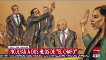 Foto: Hijos de 'El Chapo' fueron acusados de narcotráfico en EEUU