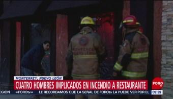 Identifican participación de cuatro personas en ataque a restaurante en NL