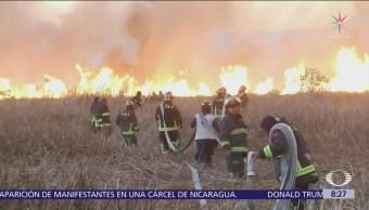 Incendio en Xochimilco afectó 90 hectáreas