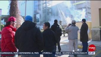 Foto: Individuo Quema Hospital Se Tira Quinto Piso 22 de Febrero 2019