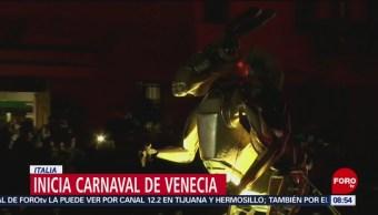 FOTO: Inicia Carnaval de Venecia, Italia, 17 febrero 2019