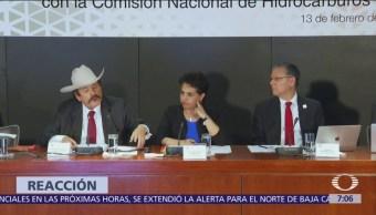 Integrantes de Comisión Nacional de Hidrocarburos rechazan críticas de AMLO