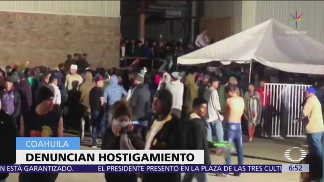 Foto: Intentan amotinarse migrantes en albergue de Piedras Negras, Coahuila