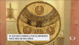 Foto: Investigadores INAH Descifran Chimalli Escudo Mexica 14 de Febrero 2019