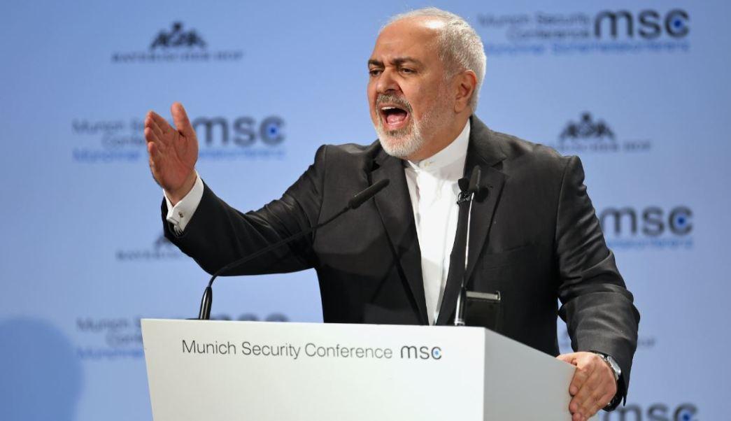"""Foto: El ministro iraní de Exteriores, Mohamad Yavad Zarif, argumentó que la demanda de Washington a sus socios europeos es """"arrogante"""", el 17 de febrero de 2019 (Reuters)"""