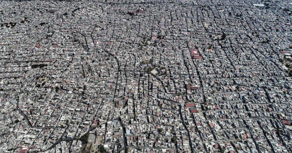 foto Imagen aérea de Iztapalapa