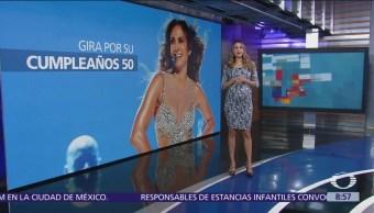 Jennifer López celebra 50 años con gira internacional