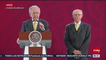 Jiménez Espriú habla del desplome del helicóptero en Puebla