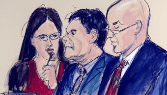 FOTO Defensa de 'El Chapo' pedirá nuevo juicio nueva york 12 febrero 2019