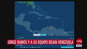 Jorge Ramos ya viaja rumbo a Miami