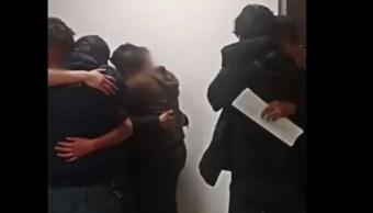 Rescatan a los tres jóvenes secuestrados en Ocuilan, Edomex