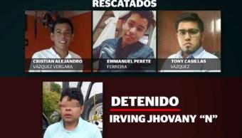Jóvenes secuestrados en Ocuilan, Edomex, retoman su vida