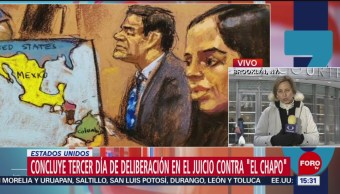 Foto: Jurado aún no define situación de 'El Chapo' Guzmán