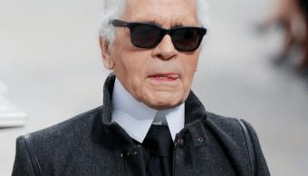 Foto: Muere el icónico diseñador de Chanel, Karl Lagerfeld. (AP 4 marzo 2014)