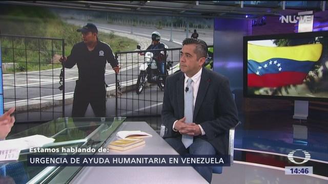 Foto: La crisis en Venezuela y la ayuda humanitaria